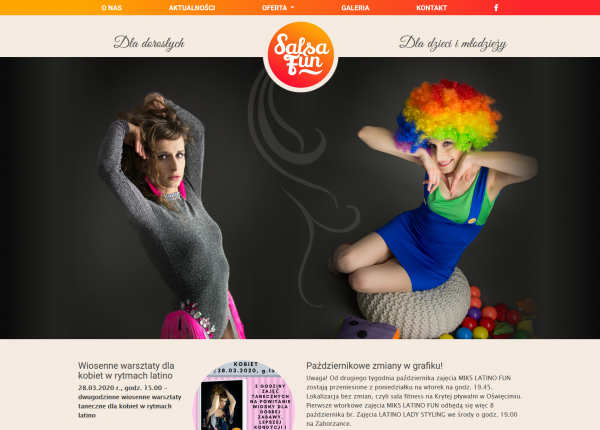 Szkoła tańca Salsa Fun w Oświęcimiu