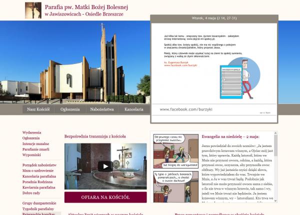 Parafia pw. Matki Bożej Bolesnej w Jawiszowicach - os. Brzeszcze