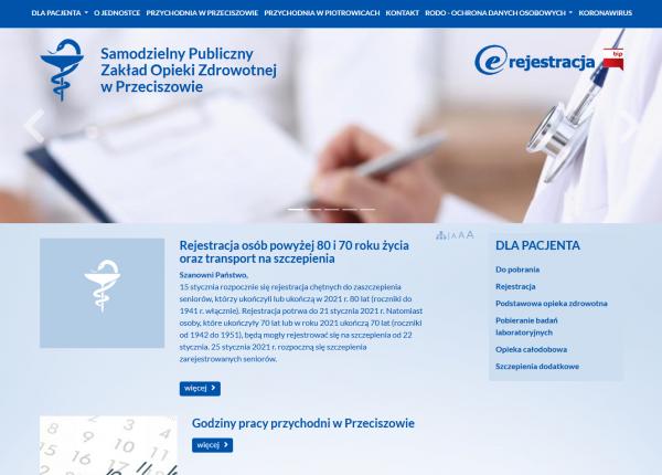 Samodzielny Publiczny Zakład Opieki Zdrowotnej w Przeciszowie