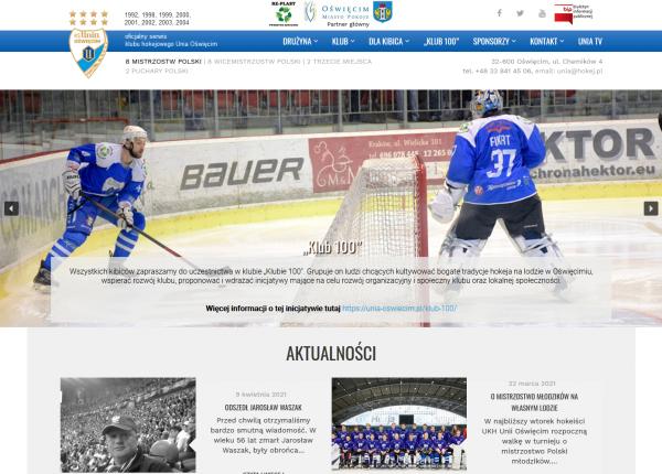 Unia Oświęcim - hokej