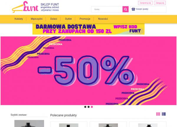 FUNT - sklep internetowy, odzież